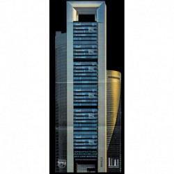 2020 Spagna America UPAEP Grattacielo di Madrid foglietto