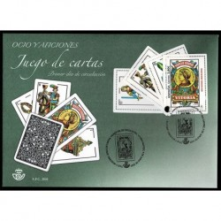 2020 Spagna Il gioco delle carte - unusual stamps FDC