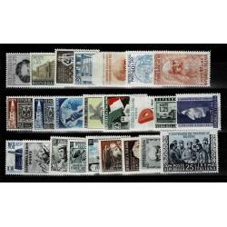1952 Repubblica annata completa integra MNH/** 24Val