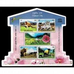 2020 India patrimonio mondiale dell'UNESCO Parchi sagomato