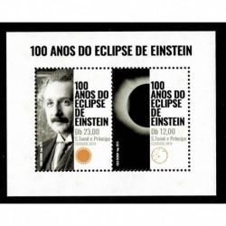2019 Sao Tomé e Príncipe Eclisse di Einstein congiunta Portogallo ( Join Iusse)