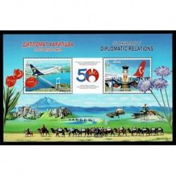 2019 Mongolia Congiunta Turchia collegamenti aerei foglietto