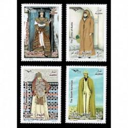 2019 Algeria EuroMed Costumi tradizionali serie