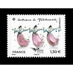 2019 Francia EuroMed Costumi tradizionali serie