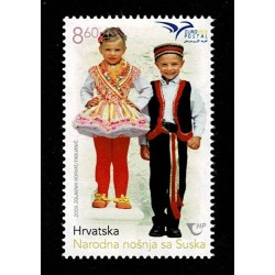 2019 Croazia EuroMed Costumi tradizionali serie