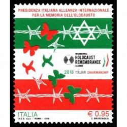 2018 Repubblica Presidenza italiana memoria dell'olocausto
