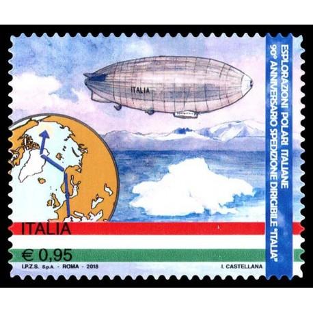2018 Repubblica spedizione del dirigibile Italia al Polo Nord