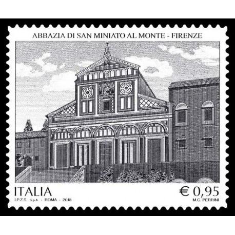 2018 Repubblica Abbazia di San Miniato al Monte in Firenze