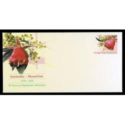 2020 Australia Itero Postale congiunto Isole Mauritius (joint iusse)
