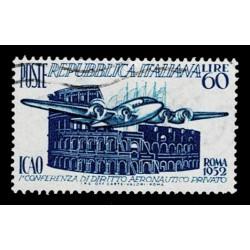 1952 Repubblica Sas.697 ICAO Conferenza Diritto Aeronautico usato