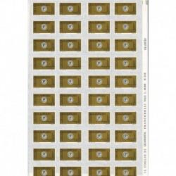 1999 Repubblica Posta Prioritaria 0,62€ tipografica Foglio intero 40 esemplari