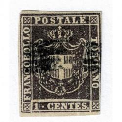 1860 ASI Granducato di Toscana 1cenr Sas.17 usato