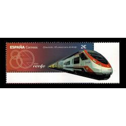 2021 Spagna 80° anniversario di RENFE sagomato + verniciato