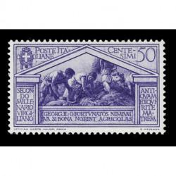 1930 Regno Bimillenario Virgilio 50cent Sas.286 MH/*