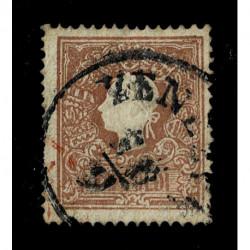 1859 ASI Lombardo Veneto 10cent Sas.31 II emissione usato