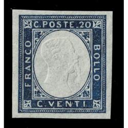1863 ASI Province Napoletane Emissioni Locali 20c Sas.3 nuovo MLH/*