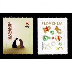 2020 Slovenia serie tematica Natale