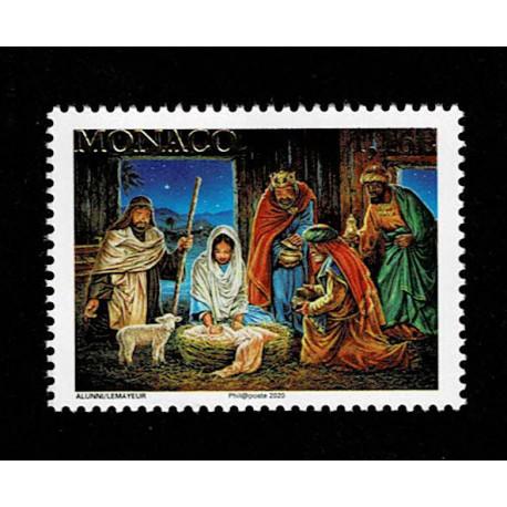 2020 Monaco serie tematica Natale religioso
