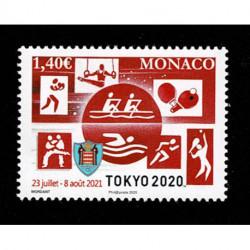 2020 Monaco Giochi Olimpici Di Tokyo 2020