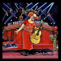 2021 Monaco 125° Anniversario Clown Charlie Rivel foglietto
