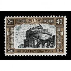 1926 Regno Pro Opera Previdenza Milizia Sas.206 MNH/**