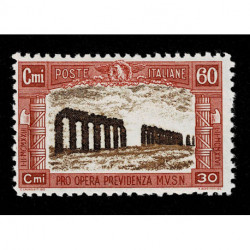 1927 Regno Pro Opera Previdenza Milizia Sas.207 MNH/**
