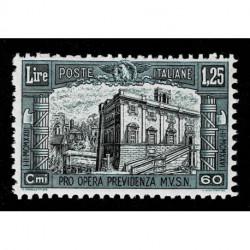1928 Regno Pro Opera Previdenza Milizia Sas.208 MNH/**