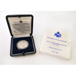 2008 - San Marino 10euro Nascita di Palladio Argento 925 Silver