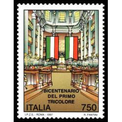 1997 Repubblica Bicentenario del primo tricolore MNH/**