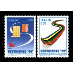 1997 Repubblica Campionati mondiali sci alpino Sestrieres '97 MNH/**