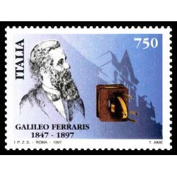 1997 Repubblica Centenario della morte di Galileo Ferraris MNH/**