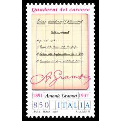 1997 Repubblica 60º anniversario morte Antonio Gramsci MNH/**