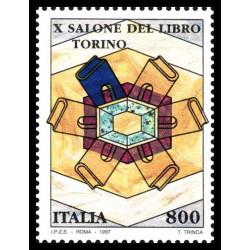 1997 Repubblica 10ª edizione salone libro Torino MNH/**