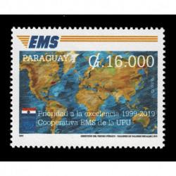 2019 Paraguay Cooperativa EMS della UPU Congiunta (Joint Iusse)