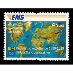 2019 Sri Lanka Cooperativa EMS della UPU Congiunta (Joint Iusse)