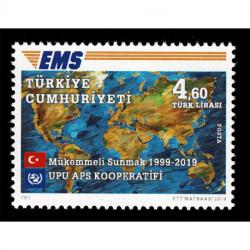 2019 Turchia Cooperativa EMS della UPU Congiunta (Joint Iusse)