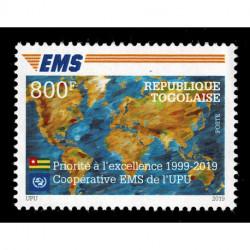 2019 Togo Cooperativa EMS della UPU Congiunta (Joint Iusse)