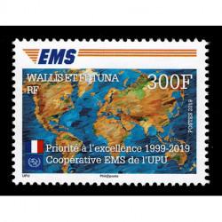 2019 Walls et Futuna Cooperativa EMS della UPU Congiunta (Joint Iusse)