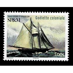 2021 Saint Pierre et Miquelon SP&M tematica navi - Galeota