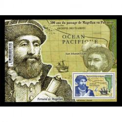 2021 Polinesia Francese passaggio di Magellano foglietto