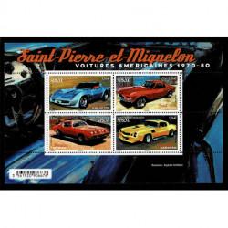 2020 Saint Pierre et Miquelon SP&M auto americane d'epoca