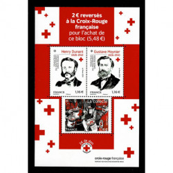 2020 Francia foglietto Pro Croce Rossa francese
