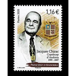 2020 Andorra francese presidente Jacques Chirac