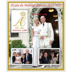 2021 Monaco anniversario del matrimonio Alberto di Monaco