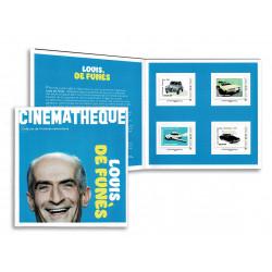 2021 Francia brochure Automobili film di Louis de Funés