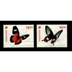 2019 Singapore congiunta (Joint Iusse) Filippine - Farfalle