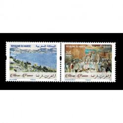 2019 Marocco Congiunta Francia Pittura - Cezanne - Majorelle