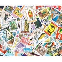 500 Francobolli mondiali differenti