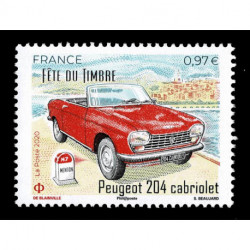 2020 Francia Automobili Peugeot 204 cabriolet MNH/**