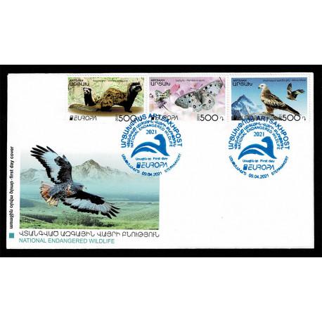 2021 Nagorno Karabakh fauna nazionale - emissione Europa FDC